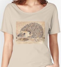 Hedgie, the African Hedgehog Women's Relaxed Fit T-Shirt