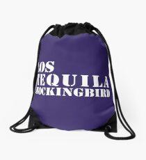 Los Tequila Mockingbird Drawstring Bag