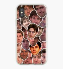Vinilo o funda para iPhone Jim Halpert Collage