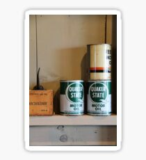 Oil Cans Sticker
