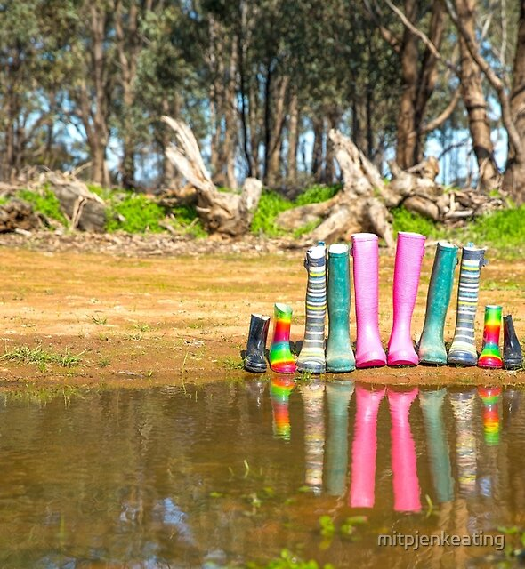 Youanmite gumboots. by mitpjenkeating