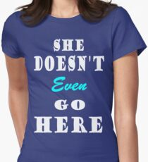 Mean Girls 9 Women's Fitted T-Shirt