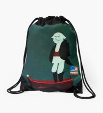 Bored George Drawstring Bag