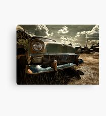 Abandoned 1956 Chevy Belair Canvas Print