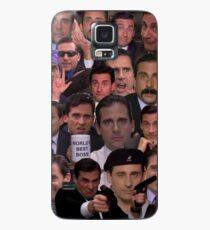 Funda/vinilo para Samsung Galaxy Michael Scott Collage
