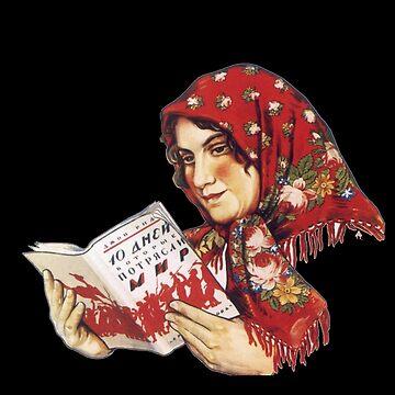 Señora de lectura de michaelwpg