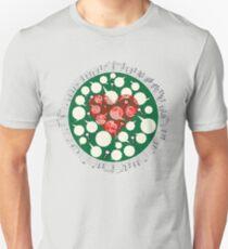 Broken Heart Ticks in Green T-Shirt