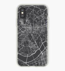 Seoul Map, South Korea - Gray  iPhone Case