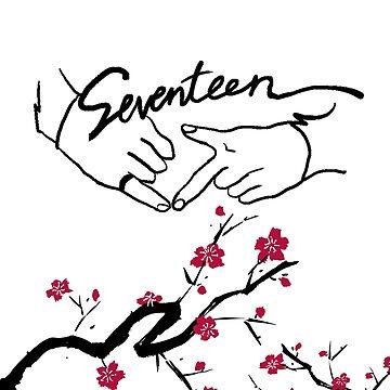 Seventeen Boyswish Cherry Blossom  by wonnie