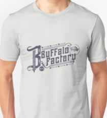 Buffalo Factory- Vintage Typography Unisex T-Shirt