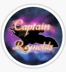"""""""Captain Reynolds"""" Sticker Sticker"""