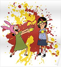 Louise and Tina Sauce Poster