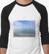Seascape Men's Baseball ¾ T-Shirt