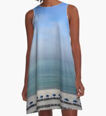 Seascape A-Line Dress