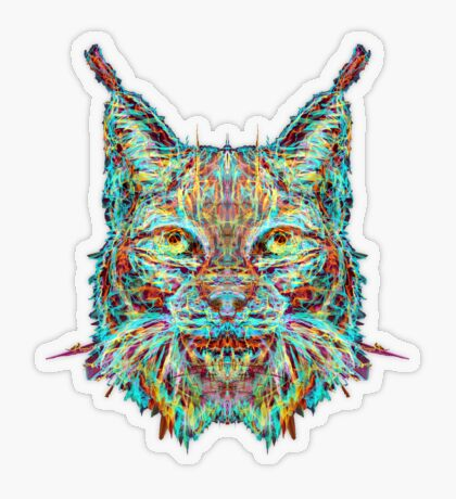 Lynx Transparent Sticker