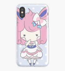 Chibi Lolita Sylveon iPhone Case