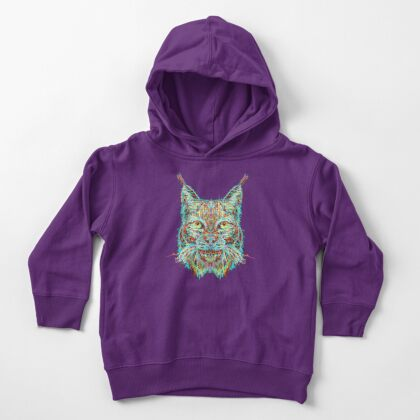 Lynx Toddler Pullover Hoodie