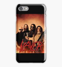 Kar05 SLAYER With ANTHRAX & Death Angel Tour 2016 iPhone Case/Skin