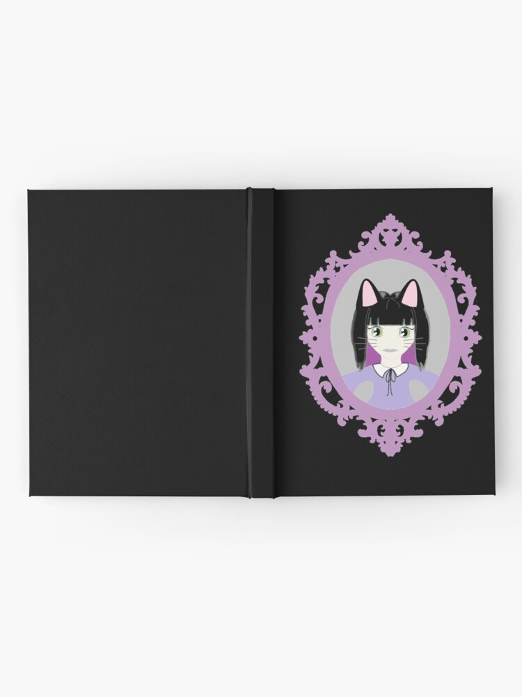 Alternate view of Kawaii Cat Cosplay Girl Hardcover Journal