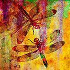Mauritius Vintage Dragonflies by Vitta