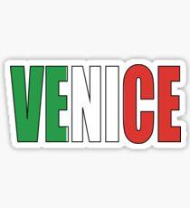 Venice. Sticker