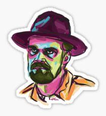 Hopper - Stranger Things Sticker