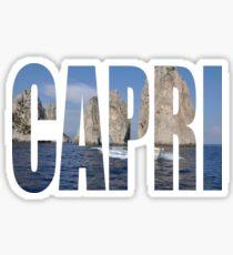 Capri Sticker