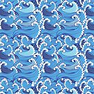 Marine graphic pattern  by Tanor