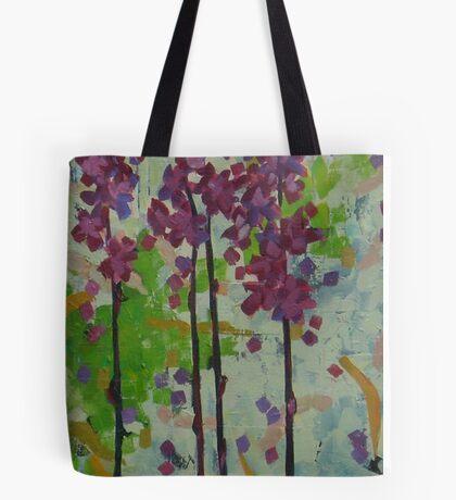 Hyacinth Orchid Tote Bag