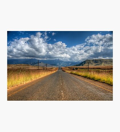 A Road Somewhere Photographic Print