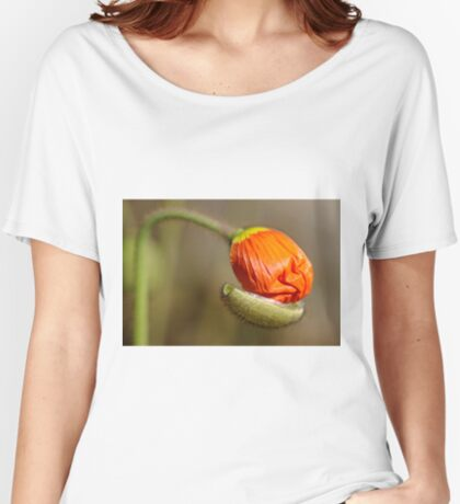 Poppies take off their coats in the sun Women's Relaxed Fit T-Shirt