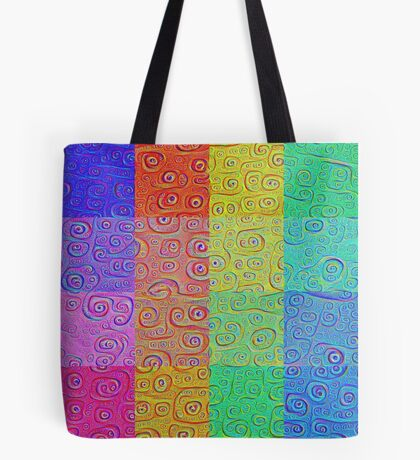 Deep Dreaming of a Color World 2 Tote Bag