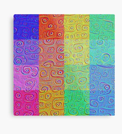 Deep Dreaming of a Color World 2 Metal Print