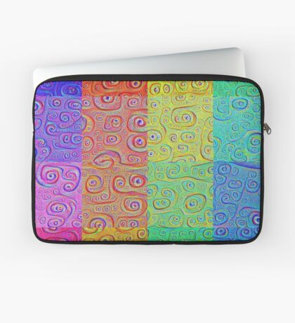 Deep Dreaming of a Color World 2 Laptop Sleeve