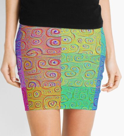 Deep Dreaming of a Color World 2 Mini Skirt