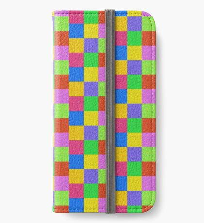 Deep Dreaming of a Color World 2K 2 iPhone Wallet