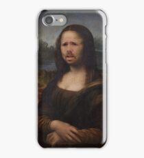 The Moaning Lisa (Karl Pilkington) iPhone Case/Skin