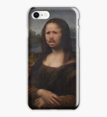The Moaning Lisa (Karl Pilkington) iPhone Case/Skin