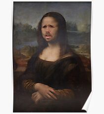 The Moaning Lisa (Karl Pilkington) Poster