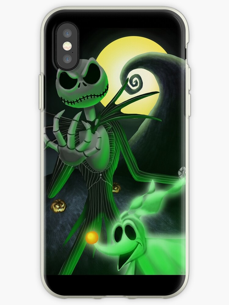 Nightmare Before Christmas Phone Case.Nightmare Before Christmas Skellington Iphone Case By Kracov