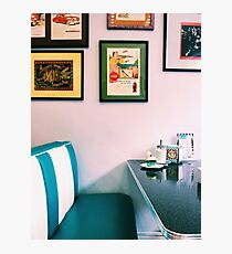 American Diner Photographic Print