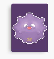 Cute Koffing - Pokemon Canvas Print