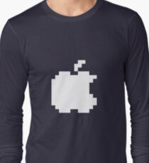 Apple pixel Long Sleeve T-Shirt