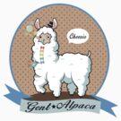 Gent Alpaca w/ background  by mini-niji