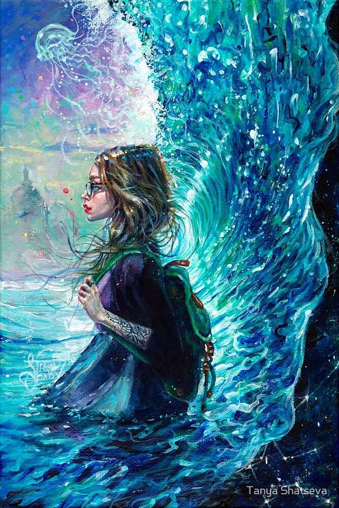 The Wave by tanyashatseva