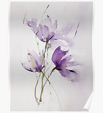 wilted tulips Poster