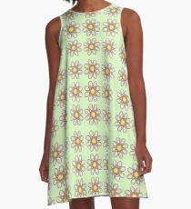 Calla Lily Foot Flowers A-Line Dress