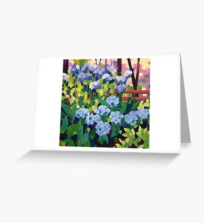 My Heart Rejoices Greeting Card