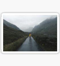 Skyfall - Landscape Photography Sticker