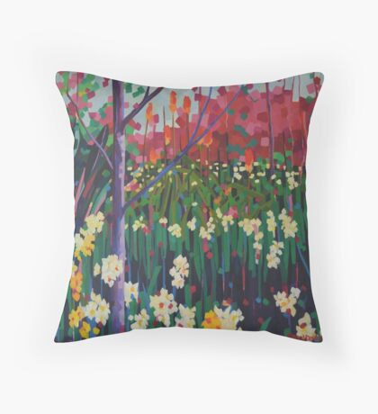 Kurrajong Spring Throw Pillow
